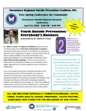April 23 Free Spring Conference